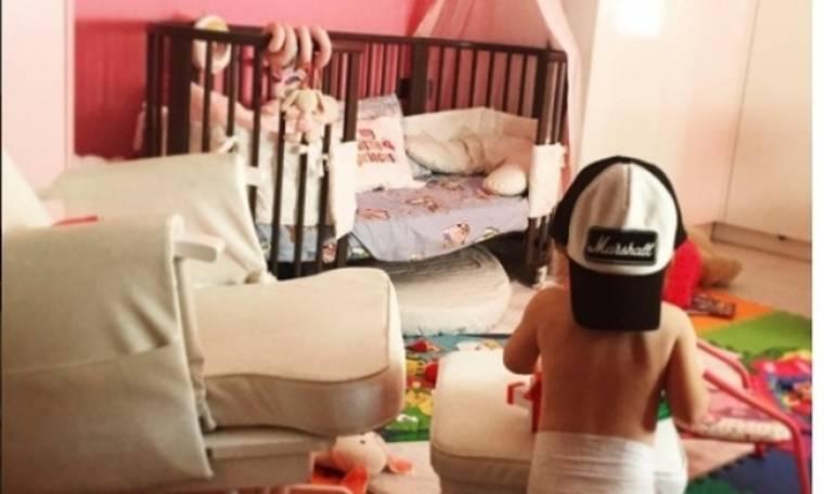 Το δωμάτιο της κορούλας της είναι… βασιλικό