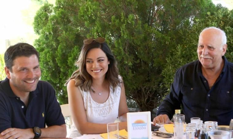 «Καλημέρα Ελλάδα»: Η συνάντηση και το γεύμα με δημοσιογράφους