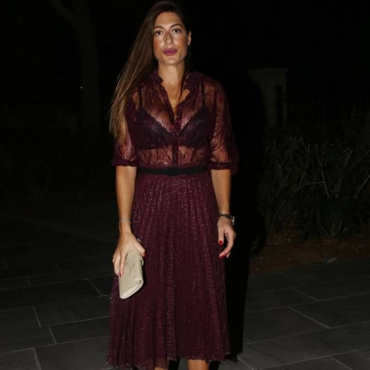 Το αποκαλυπτικό φόρεμα της Πετρουτσέλι