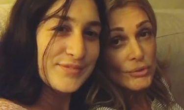 Η Νατάσα Θεοδωρίδου με την κόρη της σε βιντεάκι στο instagram