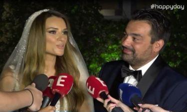 Τσολάκη-Πετρουλάκης: Οι πρώτες δηλώσεις μετά το γάμο και ο λόγος που δεν θα πάνε ταξίδι του μέλιτος