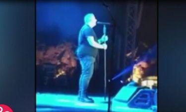 Αντώνης Ρέμος: Ξέσπασε σε συναυλία του:«Είναι όλοι κότες, είναι όλα ψέματα όσα λένε για μένα»