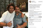 Σπαλιάρας – Ντάνος: Η συνάντηση τους σε καφέ και η φωτογραφία στο Instagram