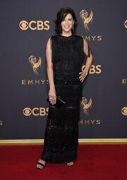 Στα Emmy με φόρεμα Celia Kritharioti