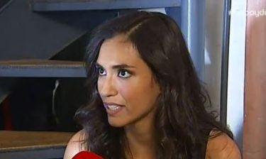 Διέκοψε τη συνέντευξη για να δώσει ένα παθιασμένο φιλί στην κόρη της Ελισάβετ Κωνσταντινίδου