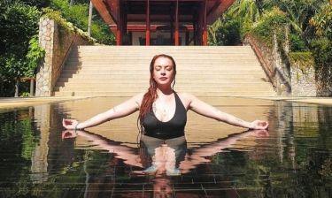 Αγνώριστη! Οι νέες φωτογραφίες της Lindsay Lohan που πρόδωσαν το botox