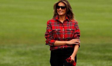 Η Μελάνια Τραμπ στον πρώτο επίσημο ρόλο της εκτός ΗΠΑ - Συνάντηση με Τριντό και πρίγκιπα Χάρι