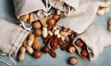 Η συχνή κατανάλωση ξηρών καρπών αποτρέπει την αύξηση του σωματικού βάρους