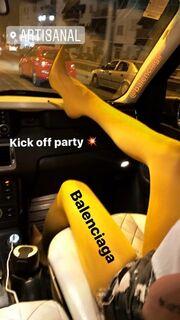 Αποκάλυψε μόνη της τη συμμετοχή της στο Nomads κάνοντας αποχαιρετιστήριο πάρτυ στους φίλους της η...