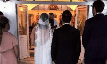 Zευγάρι της ελληνικής showbiz  παντρεύτηκε και βάφτισε τον γιο του