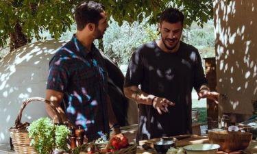 Άκης Πετρετζίκης: Δείτε τι φαγητά έφτιαξε για την εκπομπή του Josh Garcia