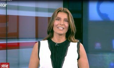 Πόπη Τσαπανίδου: Η πρεμιέρα της στο μεσημεριανό δελτίο ειδήσεων στο Star