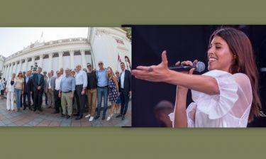 Ταξίδεψαν στην Οδησσό για τον εορτασμό των 223 χρόνων από την ίδρυση της