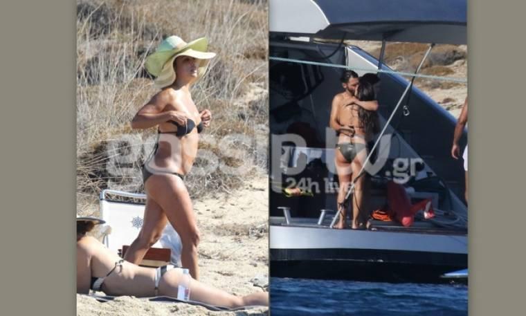 Η ακομπλεξάριστη διάσημη ηθοποιός, το διπλό καπέλο και η… κοιλίτσα!