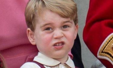 Πρίγκιπας Τζορτζ: Μόλις τρεις εβδομάδες μετά βρίσκει το σχολείο βαρετό