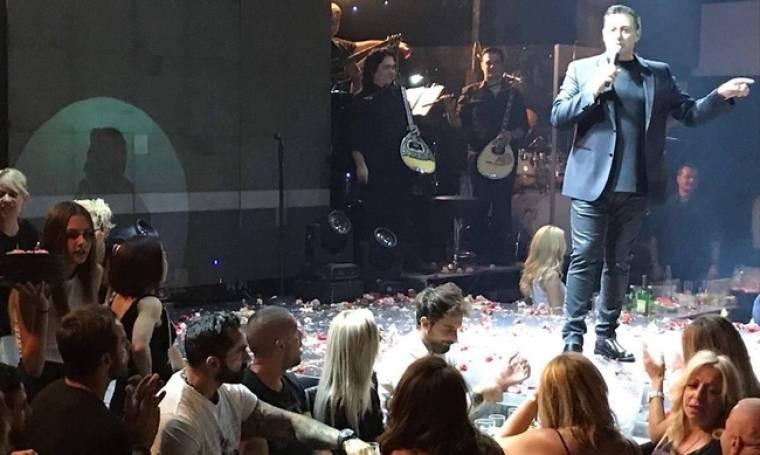 """Ο Ντάνος με τους """"Survivors"""" διασκέδασαν στον Νίκο Μακρόπουλο"""