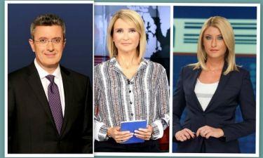 Χατζηνικολάου-Κοσιώνη-Ζαχαρέα: Η απόλυτη ανατροπή στην τηλεθέαση των δελτίων των 8