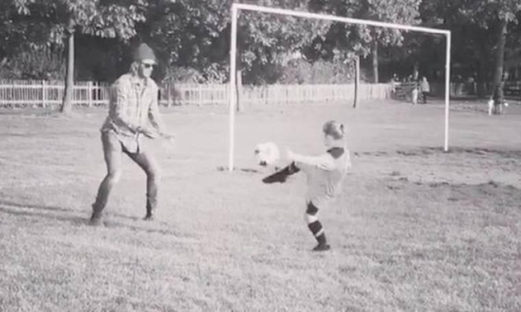 Η Harper Beckham εντυπωσιάζει με το ταλέντο της στο ποδόσφαιρο (vid)