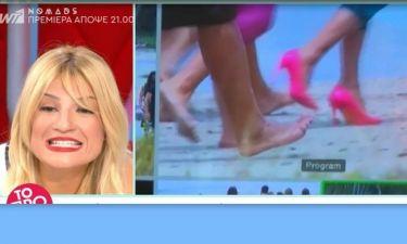 Nomads: Τρελάθηκε η Σκορδά με την Καλογρίδη: «Δεν παίζεται με τη ροζ γόβα στην παραλία του Παλάουαν»