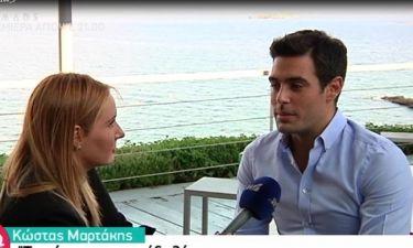 Κώστας Μαρτάκης: «Με έλεγαν χοντρό, ατάλαντο και άφωνο… με έπιανε νευρικό»!