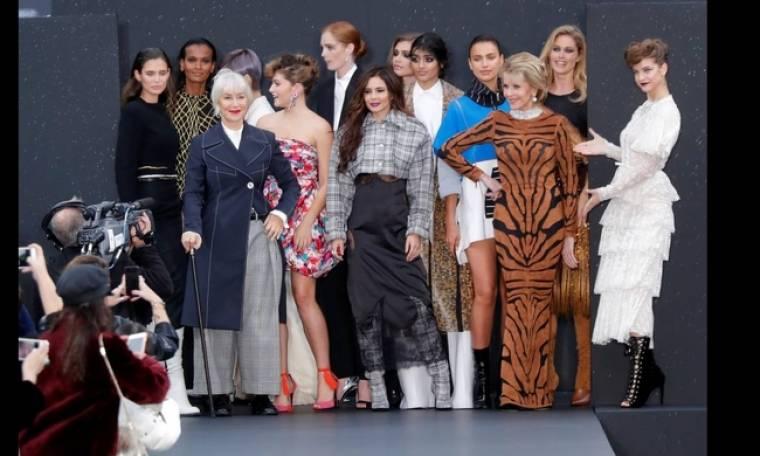 Έλεν Μίρεν & Τζέιν Φόντα οι μεγάλες κυρίες της μόδας για τη  L'Oreal