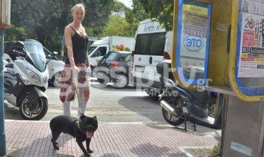 Γιάννα Πολιάκου: Δεν πάει πουθενά χωρίς τον σκύλο της