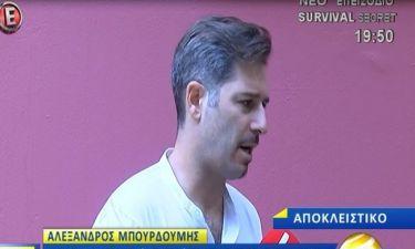 Αλέξανδρος Μπουρδούμης: Μιλά πρώτη φορά για τον χωρισμό του λίγο πριν το γάμο από την Αλεξάνδρα