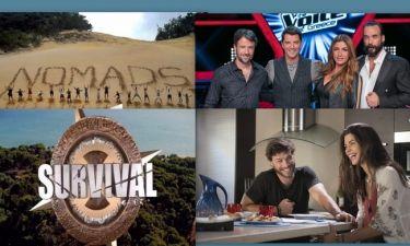 Nomads - The Voice - Τατουάζ - Survival Secret: Η ανατροπή στην τηλεθέαση