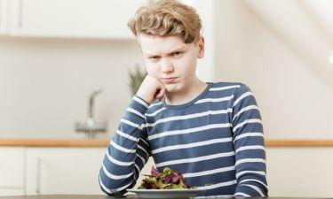 Από τι κινδυνεύουν οι έφηβοι που δεν τρώνε λαχανικά