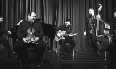 Athens Tango Ensemble και Γρηγόρης Βαλτίνος στο Half Note