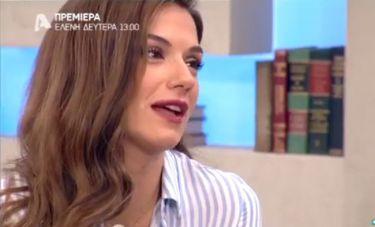 Η πρώτη τηλεοπτική εμφάνιση της Βάσως Λασκαράκη μετά τον χωρισμό!