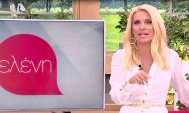 Η «έκκληση» της Ελένης Μενεγάκη στους τηλεθεατές της