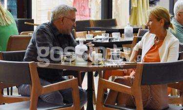 Ζαχαρέα-Βερύκιος:  Συναντήθηκαν για καφέ