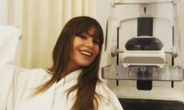 Sofia Vergara: Έκανε μαστογραφία και έστειλε το δικό της μήνυμα στο Instagram