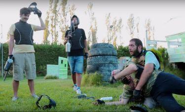 Ξεκαρδιστικό ελληνικό βίντεο: Η παρέα που «σκοτώθηκε» παίζοντας Paintball!
