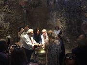 Ξαρχάκος-Σάια: Για πρώτη φορά φωτογραφίες μέσα από τη βάφτιση των διδύμων τους!
