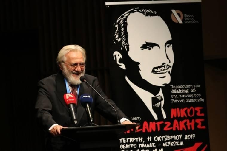 Η Κύπρος βράβευσε τον Γιάννη Σμαραγδή για τον «Καζαντζάκη»
