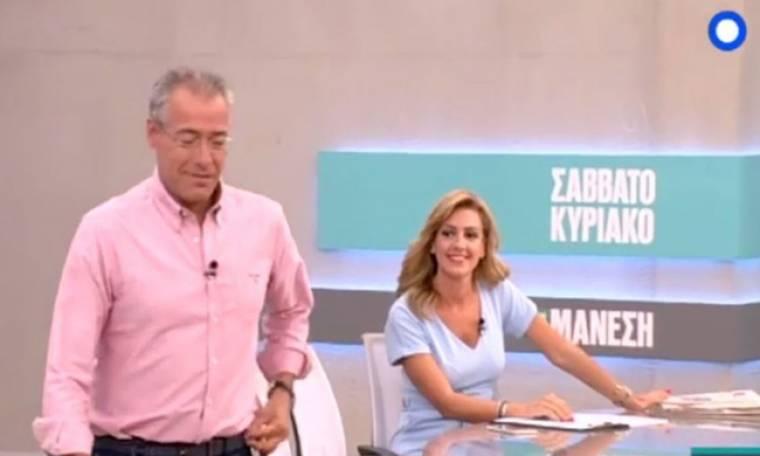 Νίκος Μάνεσης: Αποκάλυψε γιατί αποχώρησε η Χατζηγεωργίου από την εκπομπή του