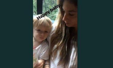 Σοφία Καρβέλα: Το βίντεο με τον μικρό της γιο στο instagram
