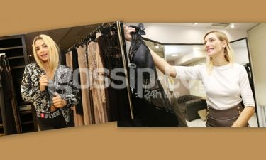 Δούκα-Josephine: Στο ατελιέ της Kathy Heyndels λίγο πριν την Εβδομάδα Μόδας