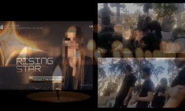 Σοκάρει παίκτρια του Rising Star. Ανέβασε βίντεο από τον τάφο του φίλου της (Nassos blog)