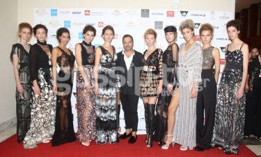 Εντυπωσιακό Show στην Ελληνική εβδομάδα μόδας από τον Τάσο Μητρόπουλο