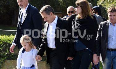 Sarkozy-Bruni: Η βόλτα στην Ακρόπολη και το... jogging στο Σύνταγμα