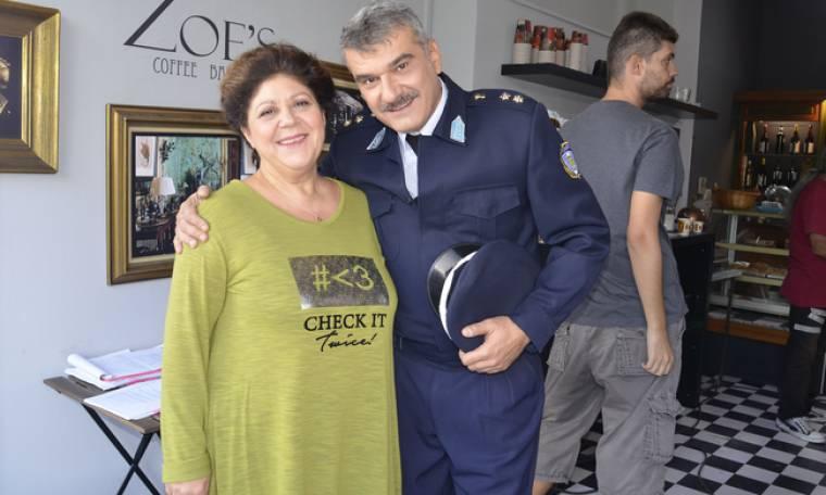 Ο Κώστας Αποστολάκης αναλαμβάνει... δράση στην Παρθένα Ζωή