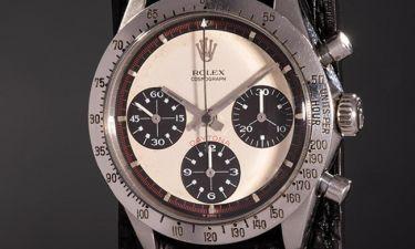Παγκόσμιο ρεκόρ! 17,8 εκατ. δολάρια για ένα... Rolex του Paul Newman