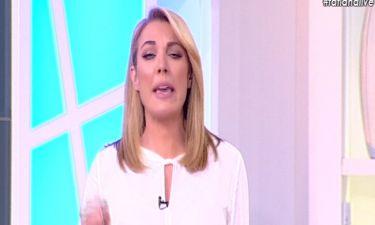 Tatiana Live: Εξοργισμένη η Τατιάνα Στεφανίδου: «Για όνομα του Θεού»