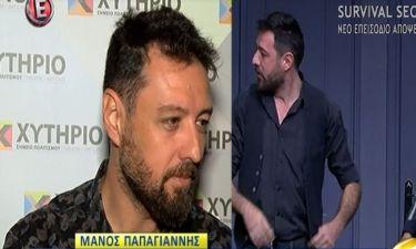 Μάνος Παπαγιάννης: «Δεν το έχω συνειδητοποιήσει ακόμα. Έπρεπε να ήταν αγέννητο τώρα»