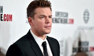 Matt Damon: «∆εν έχω δεχθεί ποτέ κάποια συνεργασία για τα χρήµατα»