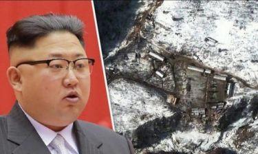 Σοκαριστικό δυστύχημα σε πεδίο πυρηνικών δοκιμών στη Βόρεια Κορέα - Τουλάχιστον 200 νεκροί (vid)
