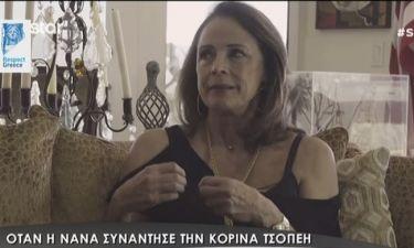 Η αποκάλυψη της Κορίνας Τσοπέη: «Ο εγγονός μου είναι με ειδικές ανάγκες και είναι δώρο Θεού»